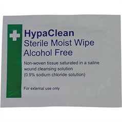 HypaClean Sterile Moist Wipes Alcohol-Free