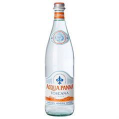acqua panna natural spring water, mineral water, italian water, table water