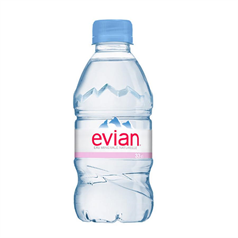 evian french mineral water, spring water, hydration, filtered water, natural, still water