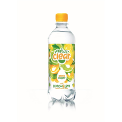 perfectly clear, fruit flavoured spring water, flavoured water, lemon, mineral water, bottled water, fruity, tuck shop, vending machine