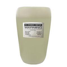 De-Ionsied Water 25ltr