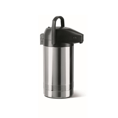 President Airpot Vacuum Jug - Stainless Steel - 3ltr