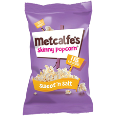 metcalfes skinny popcorn, sweet and salty, healthier snacking alternative, healthy choices, tuck shop, workplace, office snacks