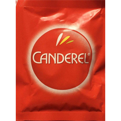 canderel tablets, calorie free, sweetener, hot drinks, sugar alternative