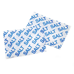 salt sachets, portions, easy to use, generous serving