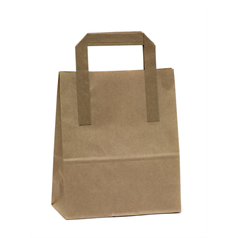 kraft bag, strong paper, quality, takeaway, prevent stains, recycled paper, alternative to plastic