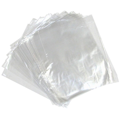 clear poly bags, catering disposables, food, hygienic, multipurpose,