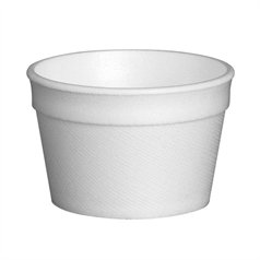 4Fc Styroweave Disposable Food Container - 4oz
