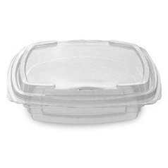 Salad Boxes With Hinged Lids