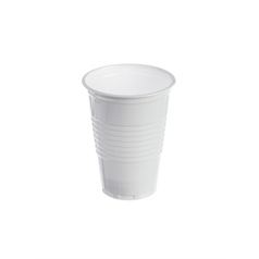 Tall Plastic Vending Cups - White - 7oz