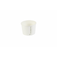 Biodegradable Soup Cup - White - 16oz