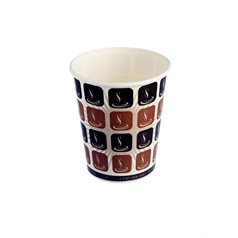 Cafe Mocha Hot Drink Cup - 8oz