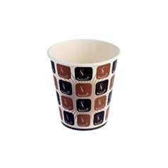 Cafe Mocha Hot Drink Cup - 10oz