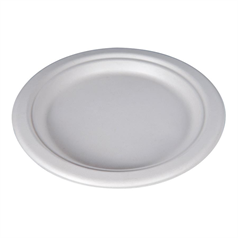 Compostable Bagasse Plate - 23cm