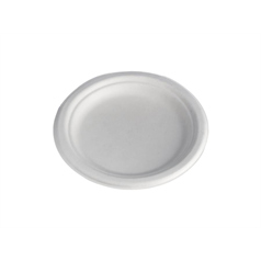 Compostable Bagasse Plate - 17cm