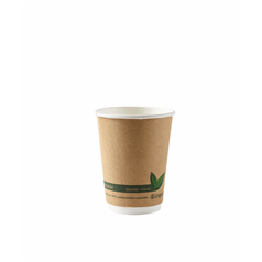 Biodegradable Compostable Double Wall Cups - 12oz