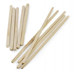Wooden Stirrers 190mm  x 1,000