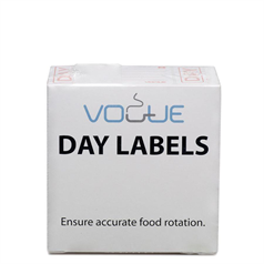 Vogue Day Food Prep Labels