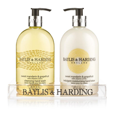 baylis and harding, brand, hand wash, clean, hygienic, set, hand cream, lotion,