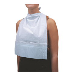 disposable bibs, eating, elderly, leakage protection, social care, hygiene