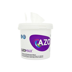 azomax wipes, antibacterial, sanitising, opticians, healthcare, disinfectant, one step, no alcohol, bactericidal