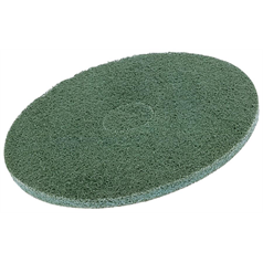 "Maxima Green Floor Pads - 11"" Green x 5"