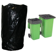 wheelie bin liners, bin bags, durable, heavy duty, waste, refuse,
