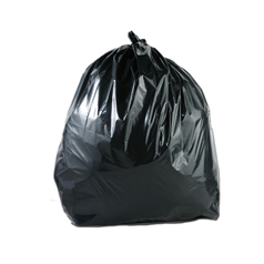 BSM Heavy Duty Wheelie Bin Liner - Black - 220g