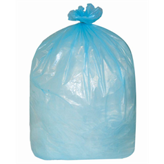 medium duty, refuse, sacks, bin bags, recycled, strong, blue