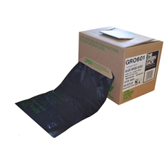 Refuse Sack Cube - Medium Duty - Black