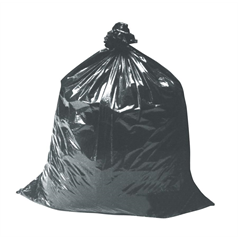 heavy duty, black sacks, waste, refuse, bags, thick, durable, rubbish