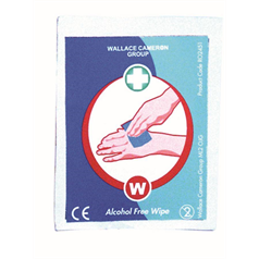 alcohol free wipes, effective cleaning, hygienic, cleaning, first aid, wound cleaning