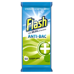 flash antibacterial, sanitising, cleaning wipes, disinfectant, clean scent, deep clean