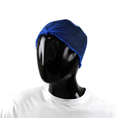 Hairnets Knotted End - Blue