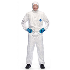 Tyvek Classic Hooded Coverall - White - XL