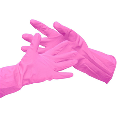 Household Glove - Pink - Small