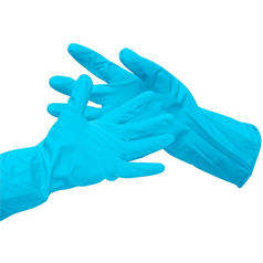 Household Gloves - Blue - Medium