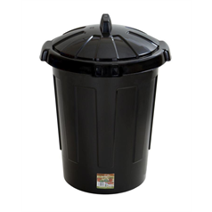 dustbin, black, rubbish, refuse, waste, durable, value for money