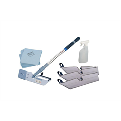 vileda, cleaning, kit, mopping, efficient, safe, microfibre