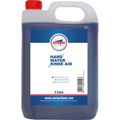 hard water rinse aid, hard water, commercial dishwashers, economical