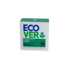 ecover, green, enviromentally friendly, streak free, chemical free, dishwash tablets,