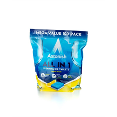 Astonish All In One Lemon  Dishwasher Tablets 100's