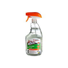 mr muscle, kitchen cleaner, disinfectant,