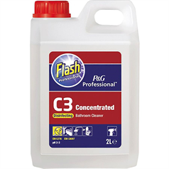 flash, professional, washroom cleaner, disinfectant, solution, cleaner