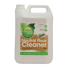 green, environmentally friendly floor cleaner, rapid and thorough cleaning, effective no harmful chemicals