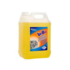 brillo, cleaner, degreaser, food safe, non caustic