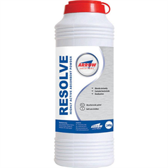 arrow resolve, absorbant powder, bodily fluids, waste, odours,