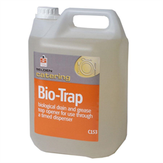 bio trap, drain cleaner, odour control, food safe, automatic dose,