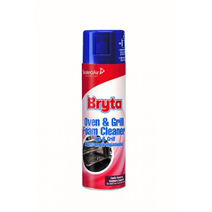 oven  cleaner, foam, bryta, cuts through grease, degreaser, professional, commercial