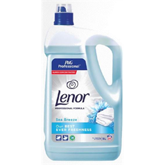 lenor, concentrated fabric softener, long lasting freshness, professional,